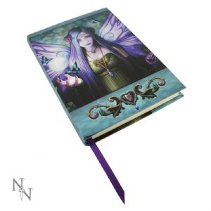 Journal~ Anne Stokes Blank Journal Book Embossed Mystic Aura~ By Folio Gothic Hippy B0137A3